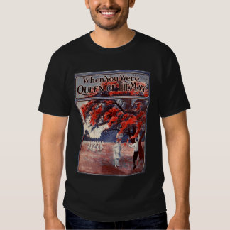 Queen of the May Mens Dark T-shirt