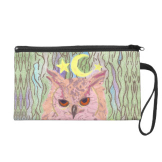 Queen of the Night Girly Owl Accessory Bag