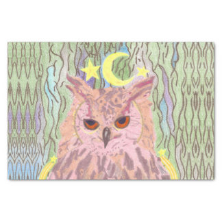 Queen of the Night Girly Owl Gift Tissue Tissue Paper