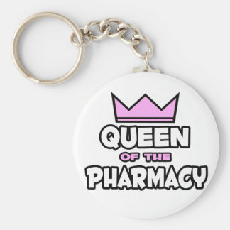 Queen of The Pharmacy Key Ring