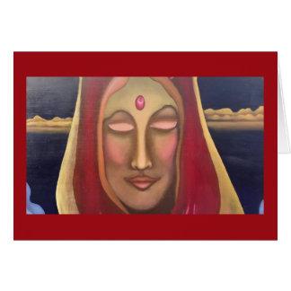 Queen of the Pink Jewel Art Card