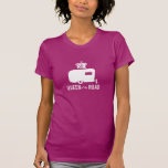 Queen of the Road - Glamping Travel Trailer Tshirt