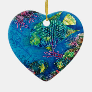 Queen of the Sea Heart Ornament