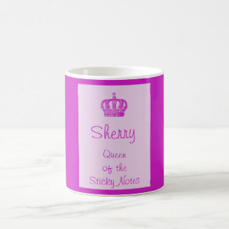 Queen of the Sticky Notes Mug