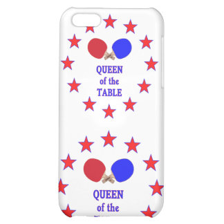 Queen of the Table Ping Pong Cover For iPhone 5C