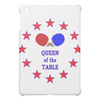 Queen of the Table Ping Pong iPad Mini Case