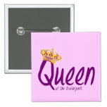 Queen of the Trailerpark Pinback Button