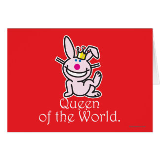 Queen Of The World Greeting Card