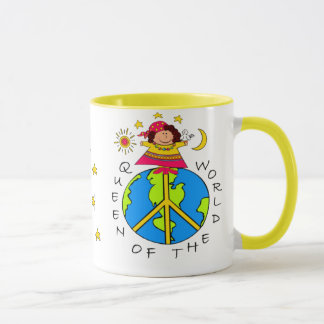 QUEEN OF THE WORLD! MUG