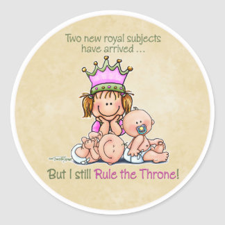 Queen of Twins - Big Sister stickers