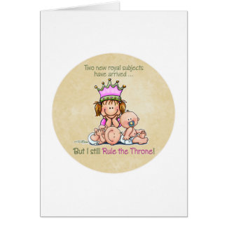 Queen of Twins Card