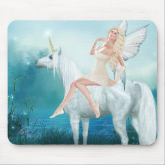 Queen of Unicorns Mouse Mat