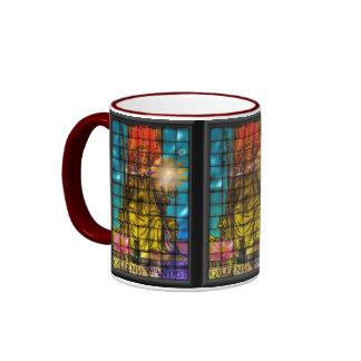Queen of wands ringer mug