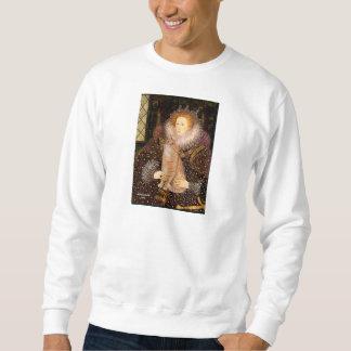 Queen - Orange Tabby cat 46 Sweatshirt