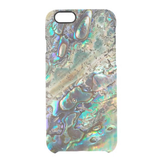 Queen paua shell clear iPhone 6/6S case