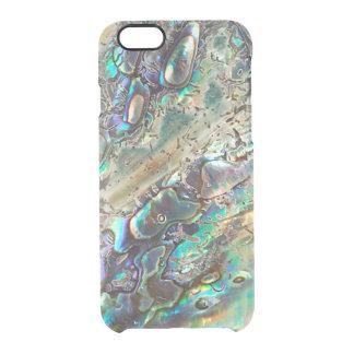 Queen paua shell clear iPhone 6/6S case