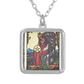 Queen Pentacles Tarot Card Fortune Teller Telling Jewelry