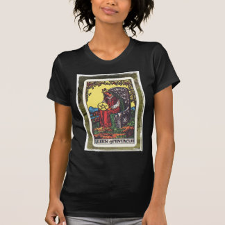 Queen Pentacles Tarot Card Fortune Teller Telling T-Shirt