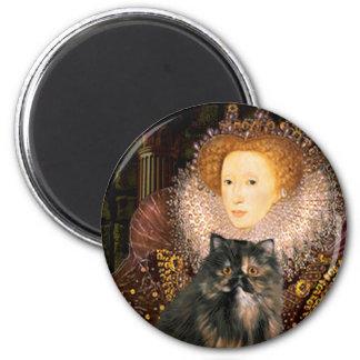 Queen - Persian Calico cat Magnets