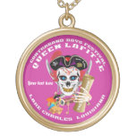 Queen Pirate Lafitte Round View About Design Pendant
