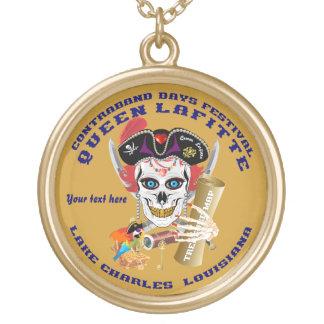 Queen Pirate Lafitte Round View About Design Custom Jewelry