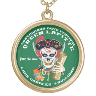 Queen Pirate Lafitte Round View About Design Necklaces