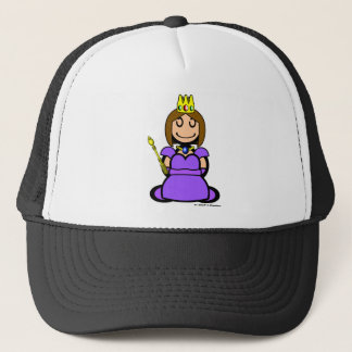 Queen (plain) trucker hat