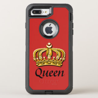 Queen Red & Gold Otterbox Case