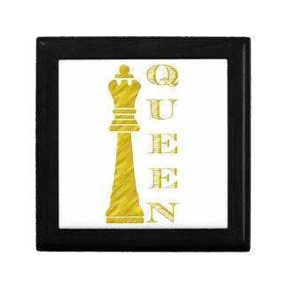 Queen Small Square Gift Box