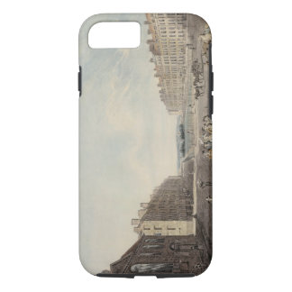 Queen Square, London, 1786 (w/c and pen and ink ov iPhone 8/7 Case