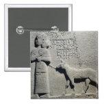 Queen Tuwarissa, wife of King Araras 15 Cm Square Badge