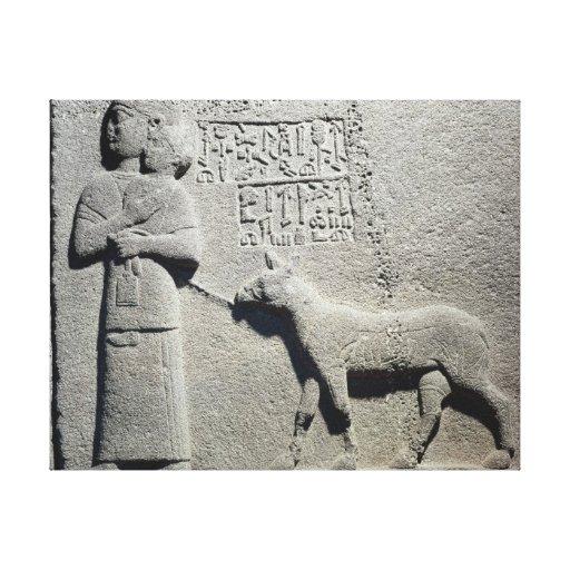 Queen Tuwarissa, wife of King Araras Canvas Print