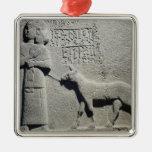 Queen Tuwarissa, wife of King Araras Silver-Colored Square Decoration