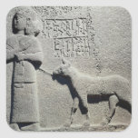 Queen Tuwarissa, wife of King Araras Square Sticker