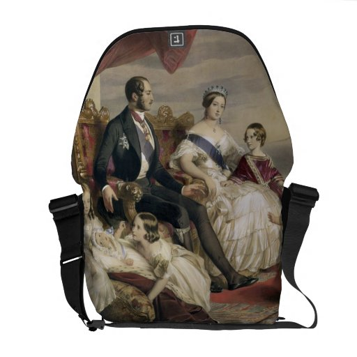 Queen Victoria (1819-1901) and Prince Albert (1819 Courier Bag