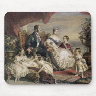 Queen Victoria (1819-1901) and Prince Albert (1819 Mouse Mat