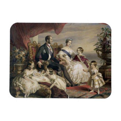 Queen Victoria (1819-1901) and Prince Albert (1819 Magnet