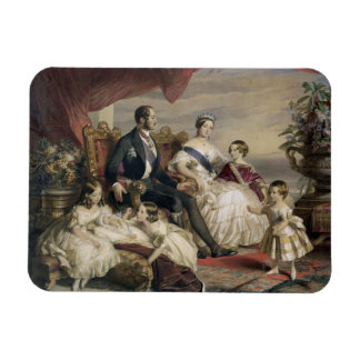 Queen Victoria (1819-1901) and Prince Albert (1819 Rectangular Photo Magnet