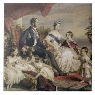 Queen Victoria (1819-1901) and Prince Albert (1819 Tile