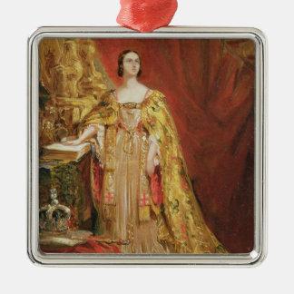 Queen Victoria (1819-1901) Taking the Coronation O Christmas Ornament
