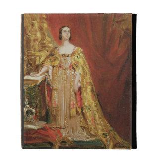 Queen Victoria (1819-1901) Taking the Coronation O iPad Folio Covers