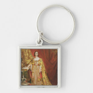 Queen Victoria (1819-1901) Taking the Coronation O Key Ring