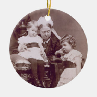 Queen Victoria (1819-1901) with her grandchildren, Christmas Ornament