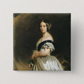 Queen Victoria  1842 15 Cm Square Badge