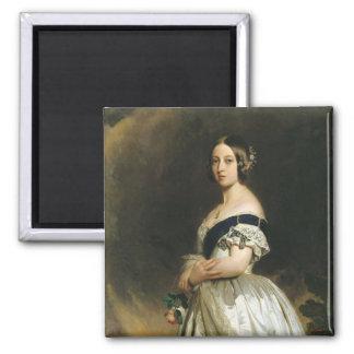 Queen Victoria  1842 Square Magnet