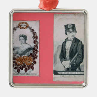 Queen Victoria and Prince Albert bookmarks Christmas Ornament