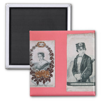 Queen Victoria and Prince Albert bookmarks Magnet