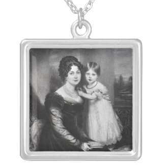 Queen Victoria as an infant with her mother Necklace