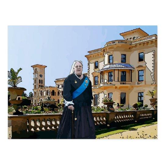 Queen Victoria at Osborne House Postcard
