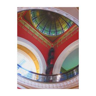 Queen Victoria Building Canvas Print